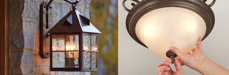 ceiling light and outdoor light fixture