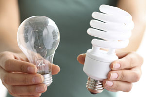 Image result for replacing energy efficient light bulbs